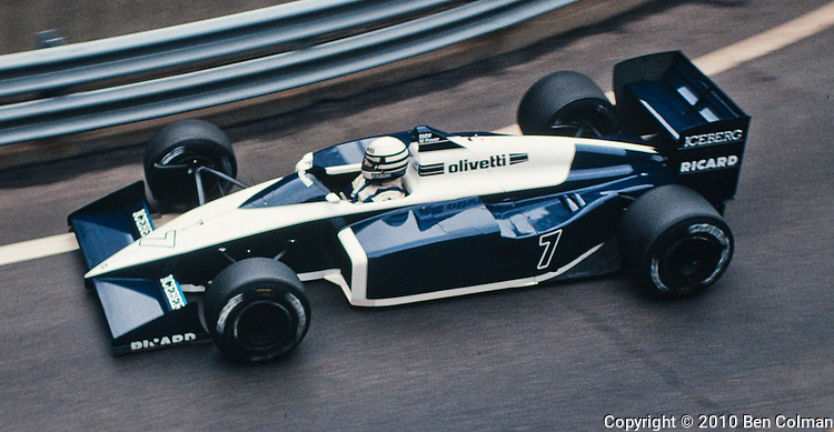 Riccardo Patrese, MRD BT56, Detroit 1987