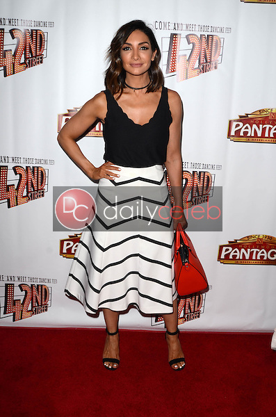 """Courtney Mazza<br /> at the """"42nd Street"""" Opening, Pantages, Hollywood, CA 05-31-16<br /> David Edwards/Dailyceleb.com 818-249-4998"""