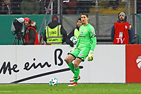 Rene Adler (1. FSV Mainz 05) wieder im Mainzer Tor - 07.02.2018: Eintracht Frankfurt vs. 1. FSV Mainz 05, DFB-Pokal Viertelfinale, Commerzbank Arena