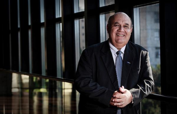 Belo Horizonte_MG, Brasil...Retrato do Sr. Divino Sebastiao de Souza, presidente da Algar Telecom (ex-CTBC)...The Sir. Divino Sebastiao de Souza portrait, He is president of Algar Telecom (ex-CTBC). ..Foto: BRUNO MAGALHAES / NITRO