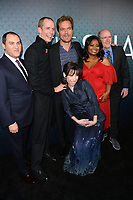 Michael Stuhlbarg, Doug Jones, Michael Shannon, Sally Hawkins &amp; Richard Jenkins at the Los Angeles premiere of &quot;The Shape of Water&quot; at the Academy of Motion Picture Arts &amp; Sciences, Beverly Hills, USA 15 Nov. 2017<br /> Picture: Paul Smith/Featureflash/SilverHub 0208 004 5359 sales@silverhubmedia.com