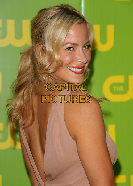 BRITTANY DANIEL.The CW Launch Party held at Warner Brothers' Studios in Burbank, California, USA..September 18th, 2006.Ref: DVS.headshot portrait looking over shoulder.www.capitalpictures.com.sales@capitalpictures.com.©Debbie VanStory/Capital Pictures