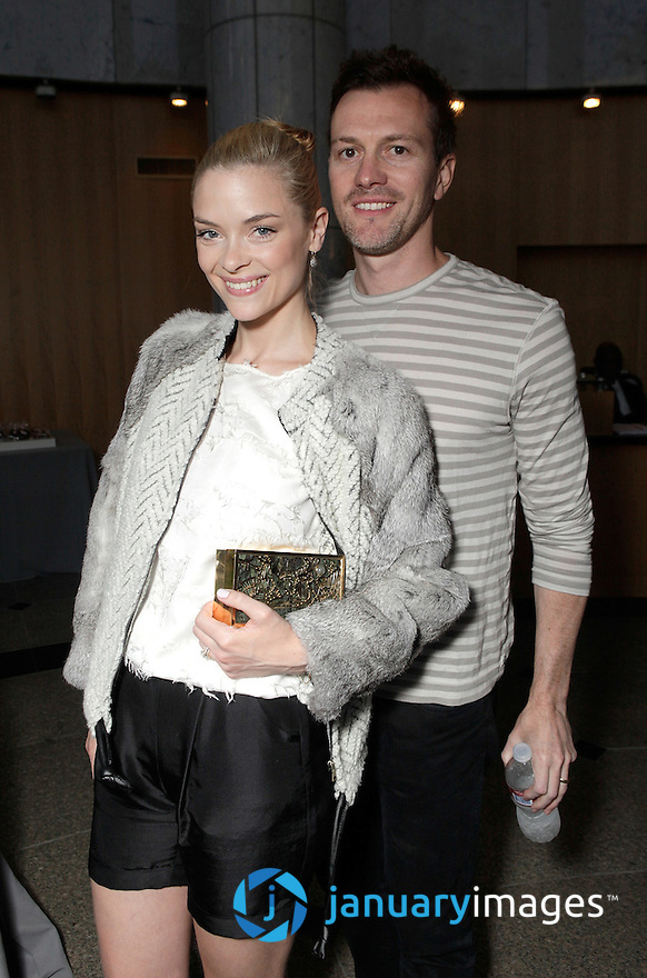"""BEVERLY HILLS, CA - JUNE 06:  Jamie King and Kyle Newman attend a Fox Searchlight screening Of """"The Art Of Getting By"""" at Clarity Theater on June 6, 2011 in Beverly Hills, California.  (Photo by Todd Williamson/WireImage)"""