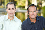 24 August 2010: Scott Bindley and William Bindley during an exclusive photo shoot at a private estate in Beverly Hills, California. .Credit: Nina Prommer/Milestone Photo