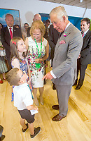 Prince Charles Visits Cove Macmillan Support Centre