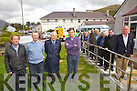 Concern over the pending cuts to the Ambulance service Cahersiveen which services an area from The Black Shop in Castle Cove to Glenbeigh, pictured here l-r; Dr Brian Donovan, Dr Kieran O'Shea, Dr John Shanahan, Dr Derry Gibson, Elma Shine, Dan Dennehy, Michael Egan, Dermot Walsh, Tony Donnelly, Frank O'Leary, Cllr PJ Donovan, Fr Niall Howard & John O'Donoghue.