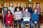 Students of the National Learning Network in Clash receive the National Inclusion Award 2018 and a certificate from the Cara Inititutive.<br /> Seated l-r, Fiona Keogh (Area Manager), Paul Moore, Michael Mullins and Kevin Smith (Instructor).<br /> Back l-r, Chris O&rsquo;Donoghue, Hugh McKenzie Kass, Mike Griffin, Laure Gleasure, Damien Coffey and Ethan Brosnan.