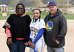 Triniece Lesky at the Sophomore Day celebration after the first game of the Western Nevada College softball doubleheader on Saturday, April 30, 2016 at Pete Livermore Sports Complex. Photo by Shannon Litz/Nevada Photo Source