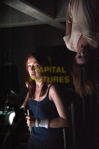 Sarah Bolger and Olivia Wilde<br /> in The Lazarus Effect (2015)<br /> *Filmstill - Editorial Use Only*<br /> CAP/NFS<br /> Image supplied by Capital Pictures
