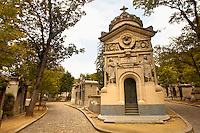 Paris France - Pere La Chaise - cemetry