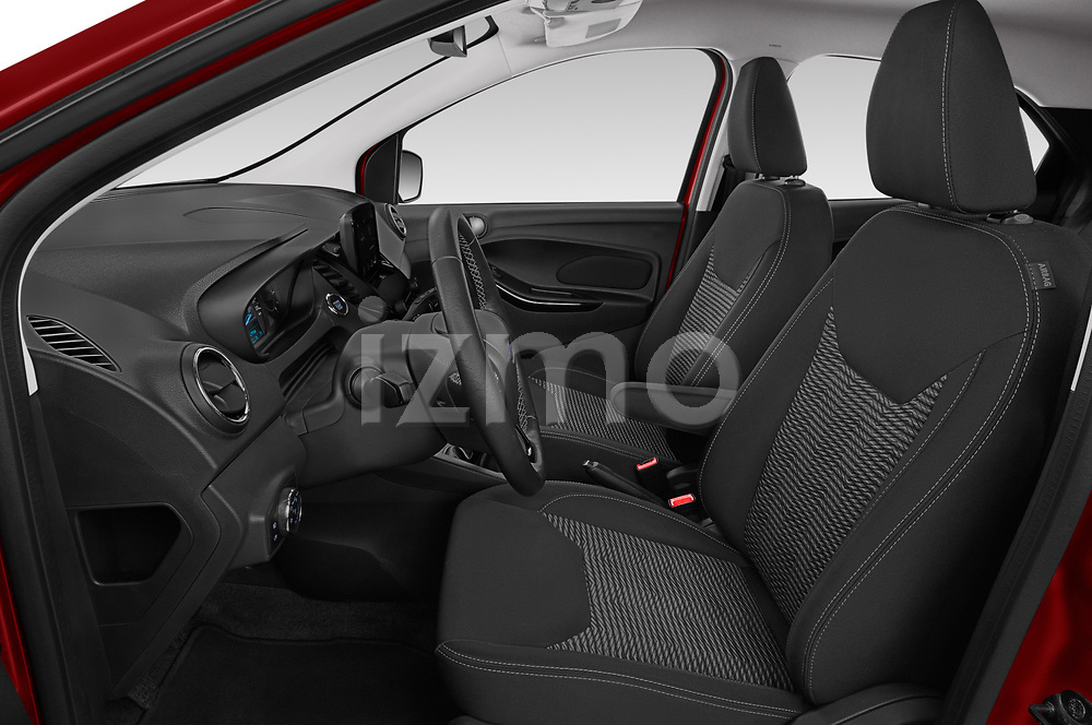 Front seat view of a 2019 Ford Ka+ Ultimate 5 Door Hatchback front seat car photos