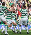 Glenn Loovens his last gasp winner for Celtic to steal victory in added on time