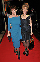 Celia Imrie and Lorraine Ashbourne at the BAFTAs fundraising gala dinner & auction, The savoy Hotel, The Strand, London, England, UK, on Friday 08th February 2019.<br /> CAP/CAN<br /> ©CAN/Capital Pictures