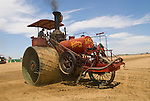 Annual ACMOC Caterpillar Tractor show at the Best Ranch near Woodland, CA--1906 Best 110 steam tractor No. 175