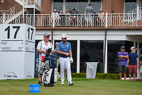 Tyrrell Hatton (ENG) looks over his tee shot on 17 during round 4 of the 2019 Charles Schwab Challenge, Colonial Country Club, Ft. Worth, Texas,  USA. 5/26/2019.<br /> Picture: Golffile | Ken Murray<br /> <br /> All photo usage must carry mandatory copyright credit (© Golffile | Ken Murray)