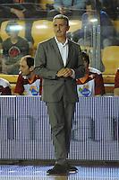Marco Calvani, allenatore della Acea Roma.Roma, 16/04/2012 PalaTiziano.Basket Campionato di Pallacanestro serie A1.Acea Roma vs Banca Tercas Teramo.Foto Insidefoto Antonietta Baldassarre