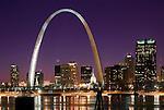 Americana.<br /> <br /> The Riverfront Arch, Saint Louis, Missouri.