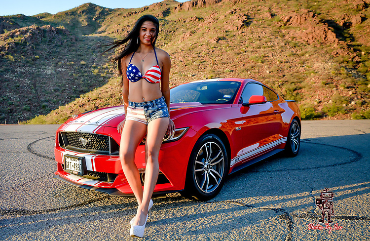 Patriotic Series with Mercedes