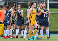 St Andrews v Wellington Girls College. Federation Cup Hockey, Lloyd Elsmore Park, Auckland, New Zealand, Tuesday 3 September 2019. Photo: Simon Watts/www.bwmedia.co.nz/HockeyNZ