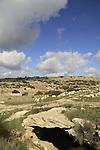Israel, Shephelah, Byzantine Chapel in a cave at Beth Loya