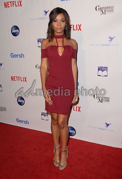 09 December - Beverly Hills, Ca - Zuri Hall. Arrivals for the Junior Hollywood Radio and Television Society's 13th Annual Holiday Party held at Greystone Manor. Photo Credit: Birdie Thompson/AdMedia