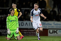 Bolton Wanderers' Ethan Hamilton (right) celebrates scoring his side's second goal <br /> <br /> Photographer Andrew Kearns/CameraSport<br /> <br /> The Premier League - Leicester City v Aston Villa - Monday 9th March 2020 - King Power Stadium - Leicester<br /> <br /> World Copyright © 2020 CameraSport. All rights reserved. 43 Linden Ave. Countesthorpe. Leicester. England. LE8 5PG - Tel: +44 (0) 116 277 4147 - admin@camerasport.com - www.camerasport.com