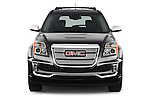 Car photography straight front view of a 2017 GMC Terrain FWD-Denali 5 Door SUV Front View
