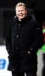 Nederland, Rotterdam, 1 december  2012.Eredivisie.Seizoen 2012-2013.Feyenoord-RKC Waalwijk.Ronald Koeman, trainer-coach van Feyenoord