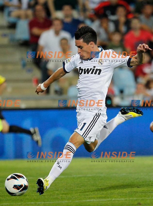 Madrid(26/08/2012).- Coliseum Alfonso Perez..Liga BBVA, Jornada nº2..Getafe - Real Madrid..Callejon...Photo: Alex Cid-Fuentes / ALFAQUI.. .Getafe Real Madrid.Football Calcio 2012/2013 Liga Spagna.Foto Insidefoto