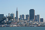 San Francisco skyline from Alcatraz Island