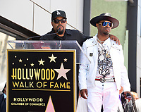 Ice Cube &amp; Sir Jinx at the Hollywood Walk of Fame star ceremony honoring actor/musician Ice Cube, Los Angeles, USA 12 June  2017<br /> Picture: Paul Smith/Featureflash/SilverHub 0208 004 5359 sales@silverhubmedia.com