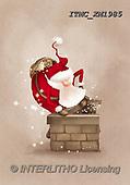 Marcello, CHRISTMAS SANTA, SNOWMAN, WEIHNACHTSMÄNNER, SCHNEEMÄNNER, PAPÁ NOEL, MUÑECOS DE NIEVE, paintings+++++,ITMCXM1985,#X#