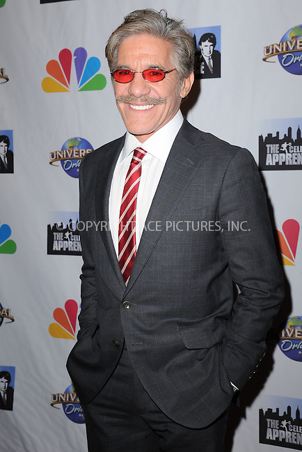 WWW.ACEPIXS.COM<br /> February 16, 2015 New York City<br /> <br /> Geraldo Rivera arriving to the Celebrity Apprentice Finale viewing party and post show red carpet on February 16, 2015 in New York City.<br /> <br /> Please byline: Kristin Callahan/AcePictures<br /> <br /> ACEPIXS.COM<br /> <br /> Tel: (646) 769 0430<br /> e-mail: info@acepixs.com<br /> web: http://www.acepixs.com