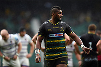 Taqele Naiyaravoro of Northampton Saints. Gallagher Premiership match, between Northampton Saints and Leicester Tigers on October 6, 2018 at Twickenham Stadium in London, England. Photo by: Patrick Khachfe / JMP
