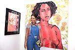 SANTA MONICA - JUN 25: Fo Porter at the David Bromley LA Women Art Exhibition opening reception at the Andrew Weiss Gallery on June 25, 2016 in Santa Monica, California
