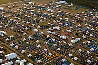 Subcamp Autumn from the air. Taken from south-east. Photo: Kim Rask/Scouterna