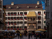 Goldenes Dachl,  Herzog-Friedrich-Stra&szlig;e, Innsbruck, Tirol, &Ouml;sterreich, Europa<br /> house Goldenes Dachl, Herzog-Friedrich St., Innsbruck, Tyrol, Austria, Europe