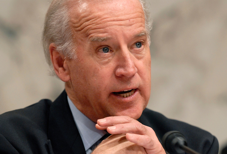 Senate Foreign Relations Committee Joe Biden, D-Del.,makes and opening statement at a continuing hearing on alternative plans for Iraq.  Lee Hamilton and James Baker, co-chairmen of the Iraq study Group, testified.