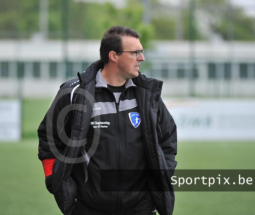 AA Gent Ladies U16 - RSC Anderlecht : Pascal Decock.foto DAVID CATRY / Nikonpro.be