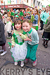 Enjoying St. Patrick's Day Parade Tralee 2014