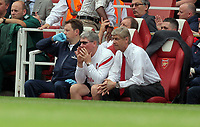 Pictured: Arsène Wenger manager of Arsenal. Saturday 10 September 2011<br />