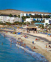 Spanien, Kanarische Inseln, Fuerteventura, Playa Costa Calma | Spain, Canary Island, Fuerteventura, Playa Costa Calma