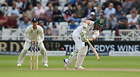 South Africa's Dean Elgar<br /> <br /> Photographer Stephen White/CameraSport<br /> <br /> Investec Test Series 2017 - Second Test - England v South Africa - Day 2 - Saturday 15th July 2017 - Trent Bridge - Nottingham<br /> <br /> World Copyright &copy; 2017 CameraSport. All rights reserved. 43 Linden Ave. Countesthorpe. Leicester. England. LE8 5PG - Tel: +44 (0) 116 277 4147 - admin@camerasport.com - www.camerasport.com