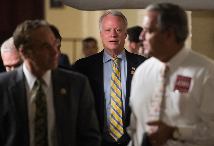 UNITED STATES - MAY 15: Rep. Paul Broun, R-Ga., leaves the House Republican Conference meeting in the basement of the Capitol on Wednesday, May 15, 2013. (Photo By Bill Clark/CQ Roll Call)