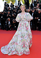 "CANNES, FRANCE. May 15, 2019: Elle Fanning at the gala premiere for ""Les Miserables"" at the Festival de Cannes.<br /> Picture: Paul Smith / Featureflash"