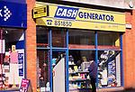 A752N9 Cash Generator shop Great Yarmouth Norfolk England