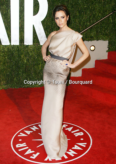 Victoria Beckham _15   -<br /> Vanity Fair After Oscars Party In Los Angeles.
