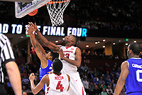 NWA Democrat-Gazette/J.T. WAMPLER Arkansas beat Seton Hall 77-71 Friday Mar. 17, 2017 in the first round of the NCAA Tournament at the Bon Secours Wellness Arena in Greenville, South Carolina. Arkansas will advance to the second round, playing Sunday at the same location.