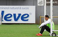 SANTOS, SP, 04.11.2015 - FUTEBOL-SANTOS Ricardo Oliveira do Santos durante sessão de treinamento no Centro de Treinamento Rei Pelé nesta quarta-feira, 04. (Foto: Flavio Hopp / Brazil Photo Press)