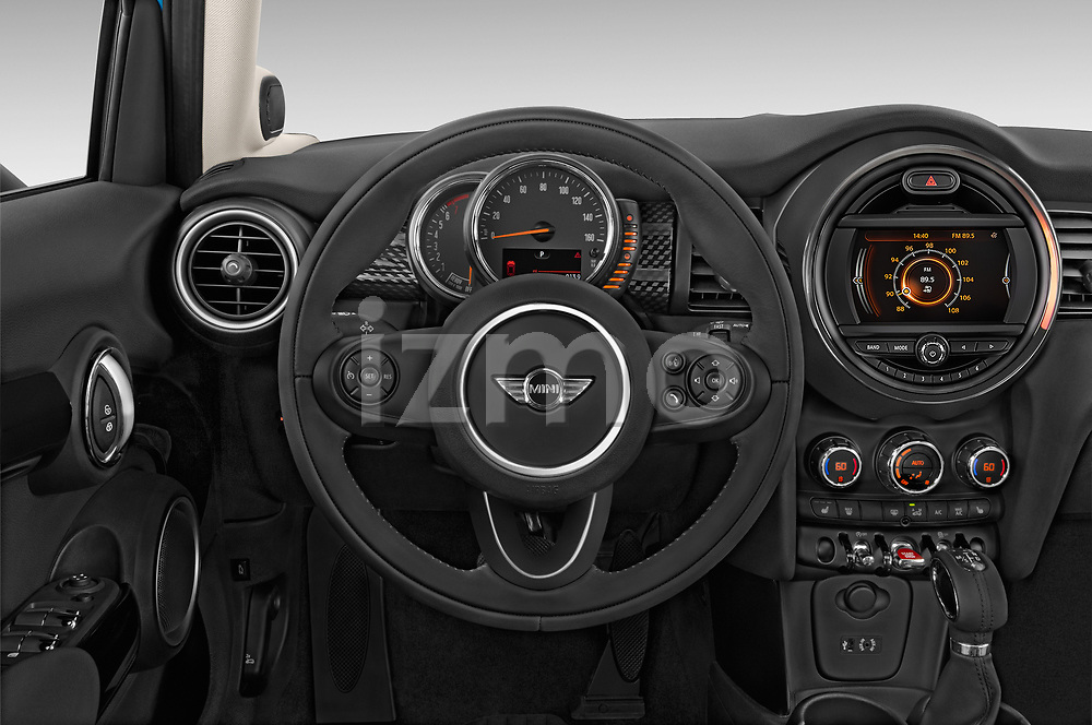 Car pictures of steering wheel view of a 2017 MINI Cooper S 5 Door Hatchback Steering Wheel